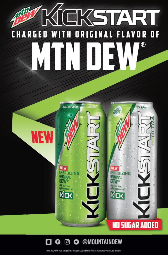 mountain dew jumpstart