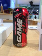 A photograph of Game Fuel (Cherry Burst)