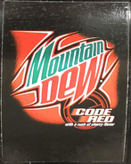 Mountain Dew Code Red at Arby's