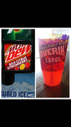 Mountain Dew Goji Citrus Strawberry at Maverik