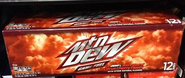 Mountain Dew Game Fuel Citrus Cherry in 12 pack cans