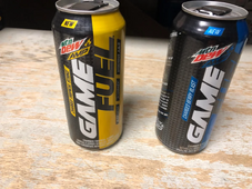 Mountain Dew Amp Game Fuel Tropical Strike and Berry Blast