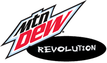 Mountain Dew Revolution new logo