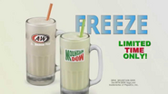 A&W all american food freeze commercial