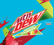 Mountain Dew Goji Citrus Strawberry exclusively at Jacksons