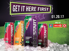 Mountain Dew Kickstart flavors in Canada