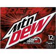 Mountain Dew Code Red Side 12 Pack