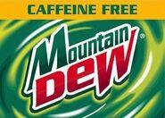 Old Caffeine Free label Art