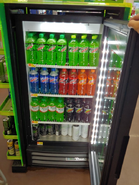 Mountain Dew Flavors in the fridge