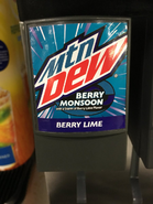 Mountain Dew Berry Monsoon with a Storm of Berry Lime flavor (Available at Sam's Club)