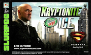 Mountain Dew Kryptonite Ice label