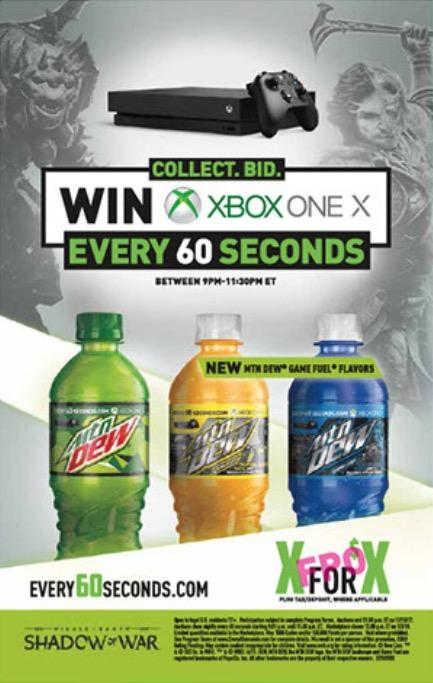 image two new mountain dew game fuel flavors for shadow of war png