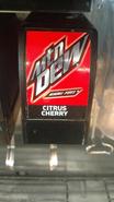 Game Fuel Citrus Cherry fountain label