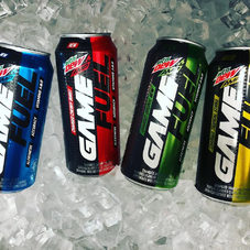 Mountain Dew Amp Game Fuel 4 new flavors