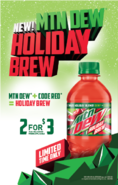 DEW SC HolidayBrew 2for3 grande
