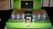 Seven flavors of Mountain Dew for Dew Labs