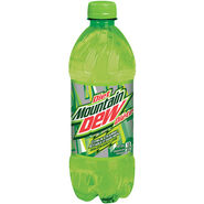 Diet Mountain Dew Canadian Bottle