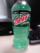 2018 Baja Blast Bottle