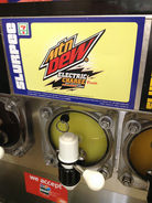 Mountain Dew Electric Charge freeze
