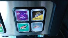 Three Mountain Dew flavors at Taco Bell