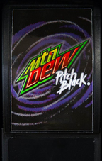 Mountain Dew Pitch Black available at Kum & Go