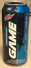 Mountain Dew Amp Game Fuel Charged (Berry Blast)