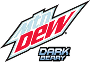 Mountain Dew Dark Berry logo