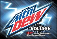 Voltage Label Art