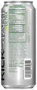 Mountain Dew Kickstart Ultra Original DEW (Back)