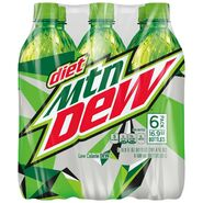 Diet Mountain Dew 6 pack of 16.9 oz bottles