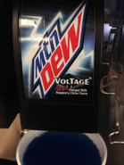 Mountain Dew Voltage in cup