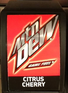 Mountain Dew Game Fuel Citrus Cherry available at Arby's until 2018