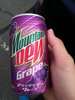 Mountain Dew Grape