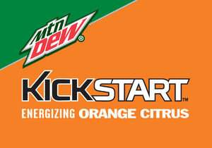 4x2.797 Kickstart Orange Citrus logo