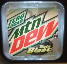 Mountain Dew Baja Blast Zero Sugar