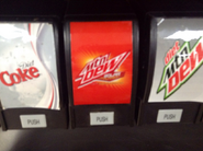 Mountain Dew Solar Flare in a different 7-Eleven store
