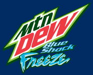 Blue Shock Freeze Logo