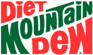 Mountain Dew Diet 80s logo colored