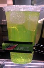Apple Dew Sign