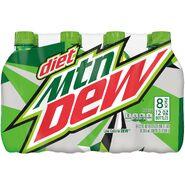 Diet Mountain Dew 8 pack of 12 oz bottles