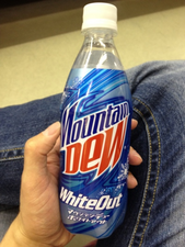 Mountain Dew White Out available in Japan
