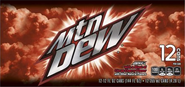 Another label of the new Mountain Dew Game Fuel Citrus Cherry logo
