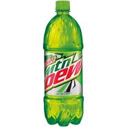 Diet Mountain Dew 1 Liter Design