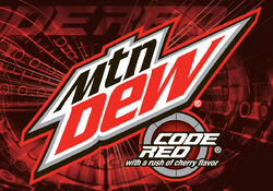 Mountain Dew Code Red Logo