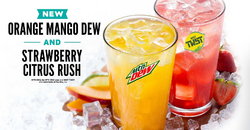 Two additional drinks at Taco John's