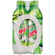 Diet Mountain Dew 6 pack of 16.9 oz bottles side