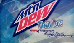 Thin Ice Label Art 2013