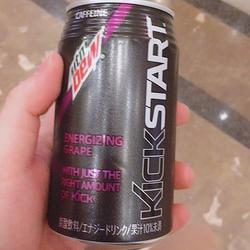 Mountain Dew Kickstart in Japan