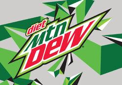 4x2.797 Diet Mtn Dew logo