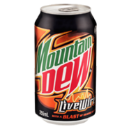 Fizzy md can 355ml livewire